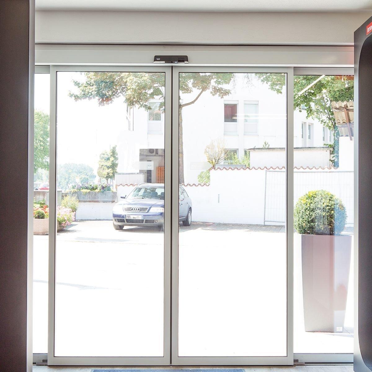 Автоматические раздвижные двери дорхан